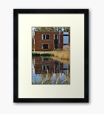 residential building Framed Print