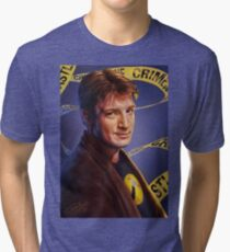 Nathan Fillion Tri-blend T-Shirt