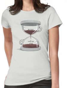Coffee Time Womens Fitted T-Shirt