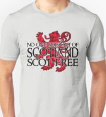 No one gets out of Scotland scot-free T-Shirt