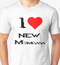 Halo-I heart new Mombasa Unisex T-Shirt