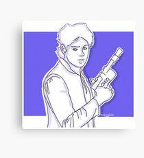 Michael Clifford as Han Solo Canvas Print