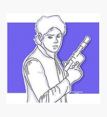 Michael Clifford as Han Solo Photographic Print
