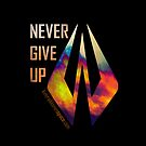 Samsung Galaxy Case - Never Give Up by evenstarsaima