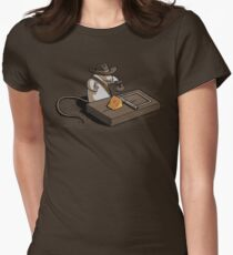 Indiana Mouse Women's Fitted T-Shirt