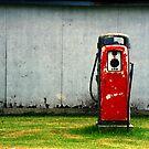 Vintage Gas Pump by Randall Nyhof