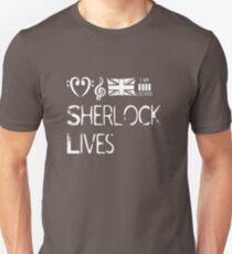 Sherlock lives Unisex T-Shirt