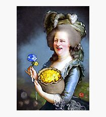 Allegory : David Cameron as Madame Déficit Photographic Print