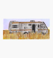 Breaking Bad RV Photographic Print