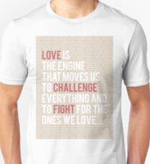 Love Is Engine Unisex T-Shirt