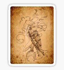 Breaking Free - The Harpy - Aged Lines Sticker