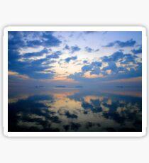 Cloud Reflections Sticker