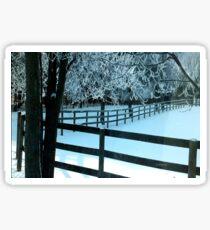 Hoar Frost Sticker
