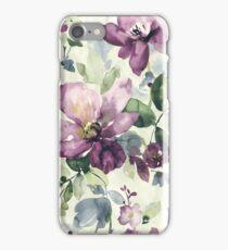 Purple wild flower iPhone Case/Skin