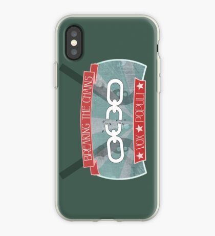 Breaking your chains iPhone Case
