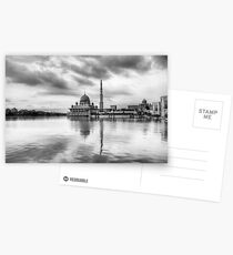 Putra Mosque - Black and white Postcards