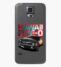 Hawaii Five-O Black Camaro (Red Outline) Case/Skin for Samsung Galaxy