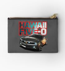 Hawaii Five-O Black Camaro (Red Outline) Studio Pouch