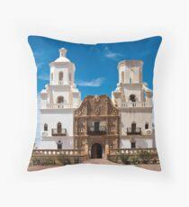 San Xavier Mission Throw Pillow