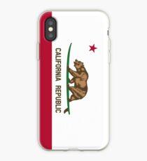Surfing California Bear iPhone Case