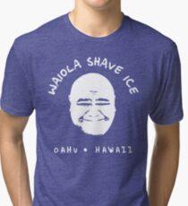 Waiola Shave Ice (White) Tri-blend T-Shirt