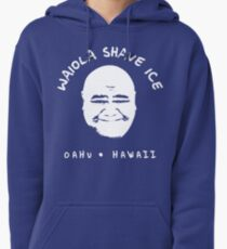 Waiola Shave Ice (White) Pullover Hoodie