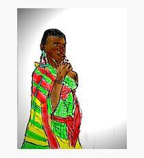 KENYAN WOMAN Photographic Print