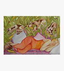 corn hunting season Photographic Print