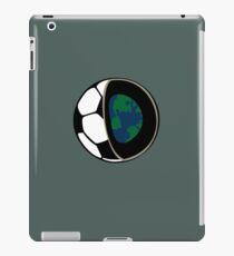 Football earth  iPad Case/Skin