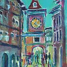 Clock Tower Arcade by christine purtle