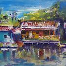 fishing village by christine purtle