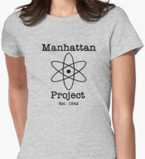 Manhattan Project Women's Fitted T-Shirt
