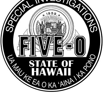 Hawaii Five-O Special Investigator Shield by fozzilized