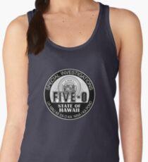Hawaii Five-O Special Investigator Shield Women's Tank Top
