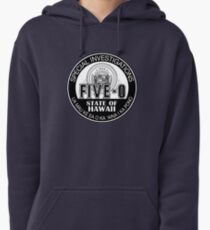 Hawaii Five-O Special Investigator Shield Pullover Hoodie