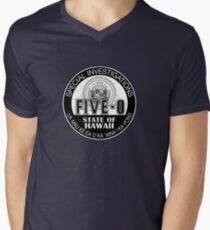 Hawaii Five-O Special Investigator Shield Men's V-Neck T-Shirt