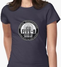 Hawaii Five-O Special Investigator Shield Women's Fitted T-Shirt