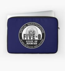 Hawaii Five-O Special Investigator Shield Laptop Sleeve
