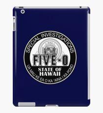 Hawaii Five-O Special Investigator Shield iPad Case/Skin