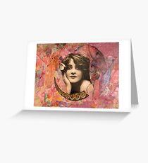 Beadgirl Greeting Card