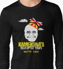 Kamekona's Helicopter Tours Long Sleeve T-Shirt