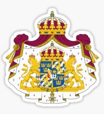 Greater Coat of Arms of Sweden  Sticker