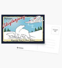 MJN Air to Qikiqtarjuaq Postcards