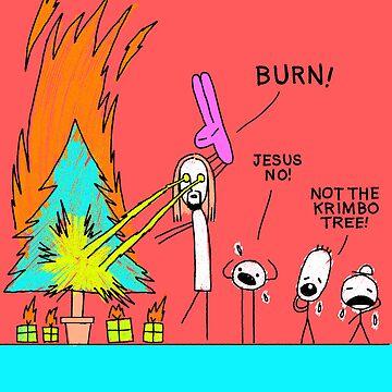 LASER JESUS! by steveboyd