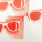 pink frames by DS Kinsel