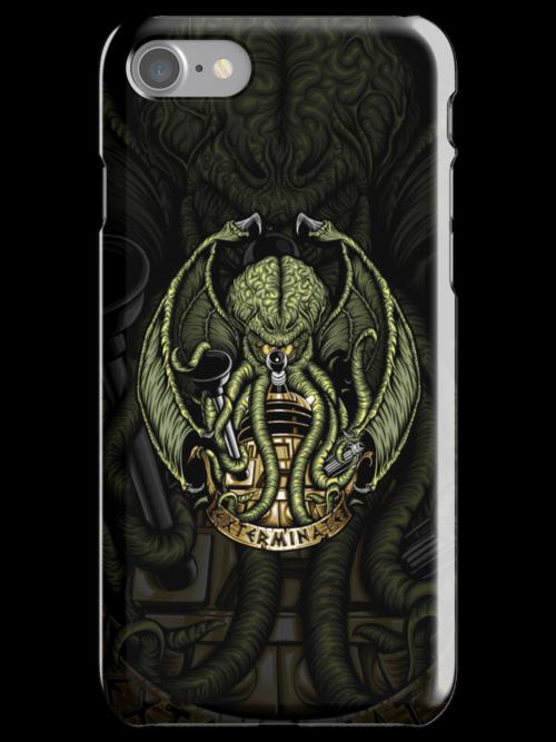 Cthulhu Exterminates - Iphone Case #1 by TrulyEpic