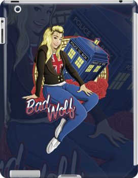 The Bad Wolf - Ipad Case by TrulyEpic