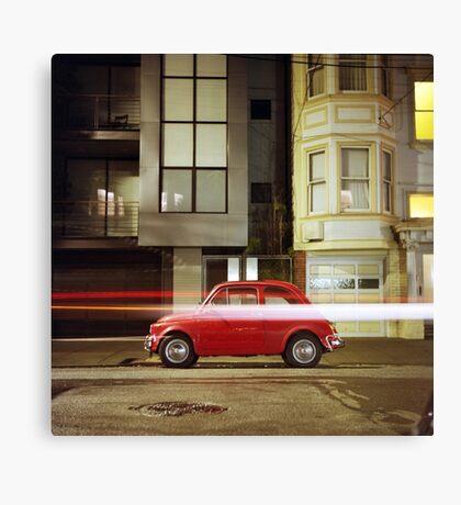 Little Red Car Canvas Print