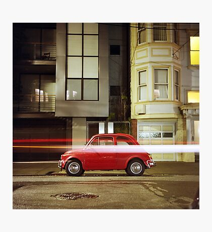 Little Red Car Photographic Print