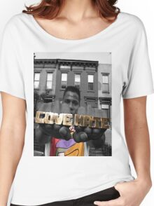 Radio Raheem - Love & Hate  Women's Relaxed Fit T-Shirt